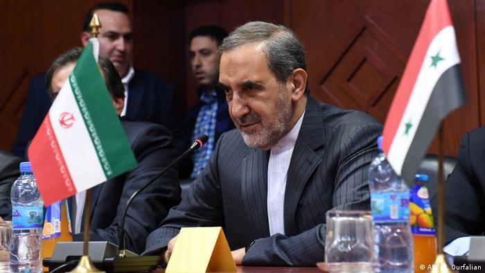 Ali Akbar Velayati, chief advisor to Iran's supreme leader