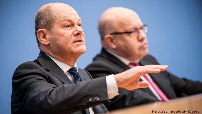 Njemački ministri u kojih su trenutno uprte sve oči: ministar financija Olaf Scholz (SPD) i ministar gospodarstva Peter Altmaier (CDU)