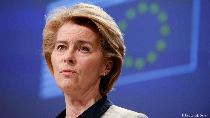Brüssel PK Ursula von der Leyen