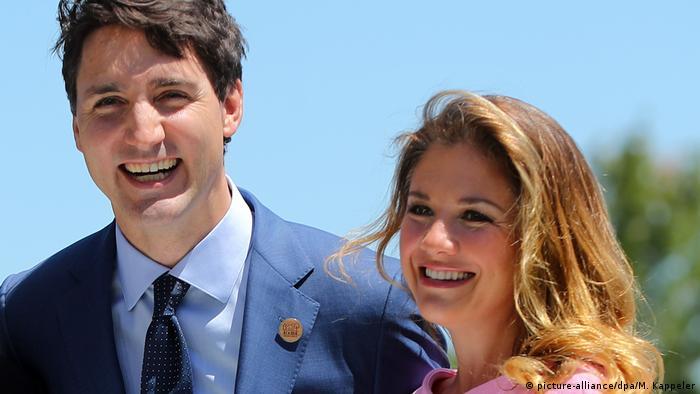 Sophie Grégoire, wife of Canadian PM, Justin Trudeau