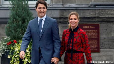 Justin and Sophie Gregoire Trudeau (Reuters/P. Doyle)