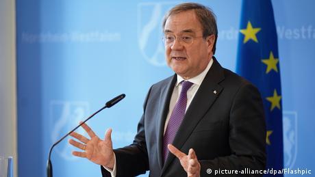 North Rhine-Westphalia's Minister-President Armin Laschet