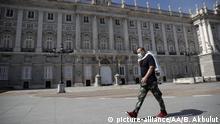 Spanien Madrid Coronavirus