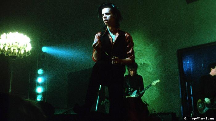 "A scene from the movie Wings of Desire"" features a performance by Nick Cave (Imago/Mary Evans)"