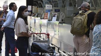 Argentinien: Auswirkungen des Coronavirus in Buenos Aires (picture-alliance/AA/M. Gabriel Sanchez )