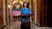 Wahsington: Sprecherin des US-Repräsentantenhauses Nancy Pelosi zu Corona