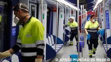 Spanien Coronavirus   Madrid neues Risikogebiet