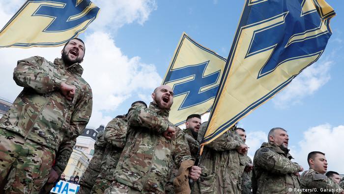 Бійці полку Азов