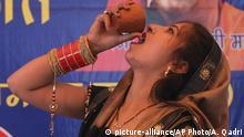 Indien Kuhurin gegen die Corona-Krise