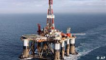 Bohrinsel der Firma Diamond Offshore Drilling
