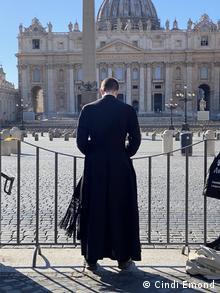 Rom am Tag vor dem landesweiten Lockdown wegen des Coronoavirus