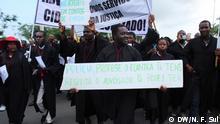 Anwälte protestieren gegen die Inhaftierung von Eugénio Francisco Marcolino in Angola