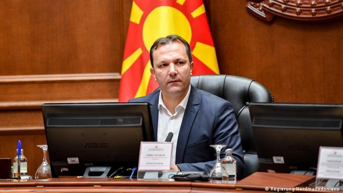 Oliver Spasovski, Prämierminister Nordmazedoniens