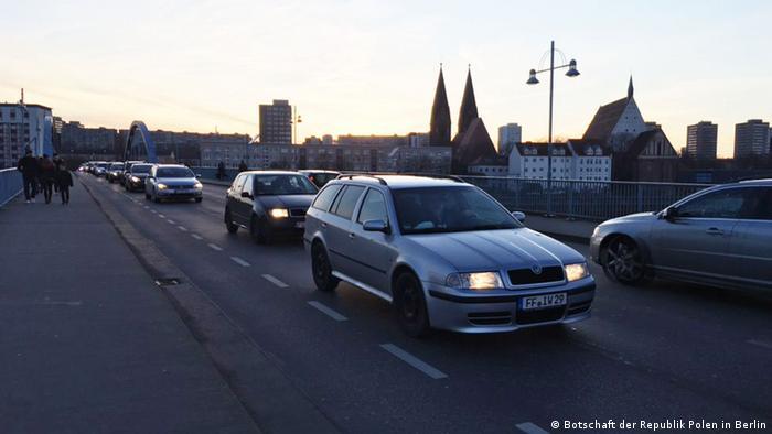 Granica polsko-niemiecka w Słubicach
