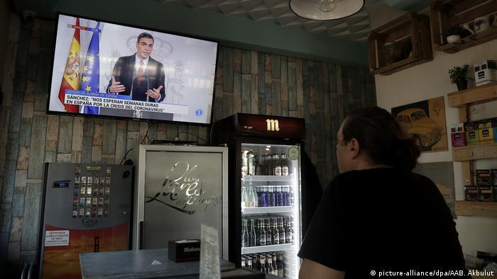 Spanien | Regierung verhängt Ausgangssperre (picture-alliance/dpa/AAB. Akbulut)