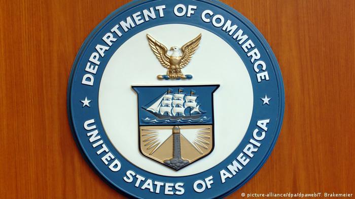 Герб Министерства торговли США