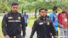 Neuseeland | Cricket Spieler aus Bangladesch zur Zeit der Anschchlags März 2019