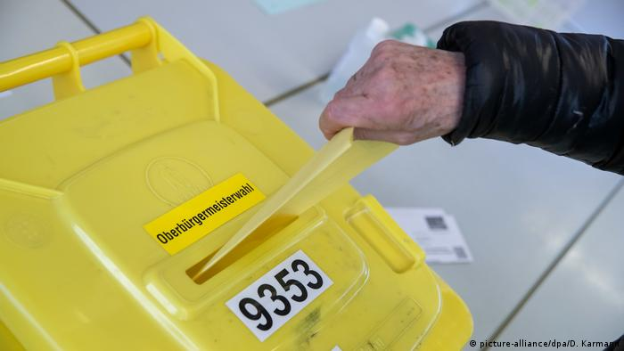 Kommunalwahl in Bayern (picture-alliance/dpa/D. Karmann)