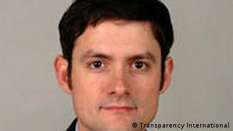Stephane Stassen, head of Transparency International's Africa Education Watch program.