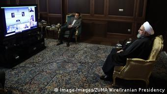 Iran Präsident Rohani: Keine Ausgangssperre im Land wegen der Corona-Krise (Imago-Images/ZUMA Wire/Iranian Presidency)