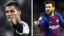 Kombobild Cristiano Ronaldo und Leo Messi