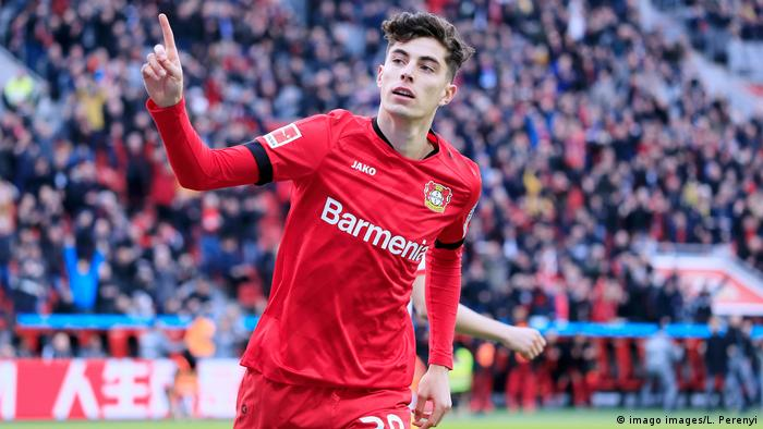Havertz Kai Team Bayer 04 Leverkusen (imago images/L. Perenyi)