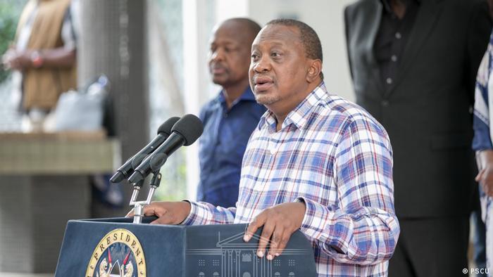 Kenia Coronavirus Uhuru Kenyatta