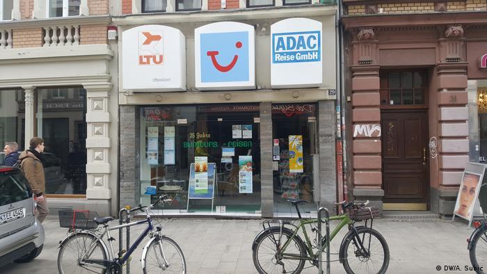Reisebüro in Köln (DW/A. Subic)