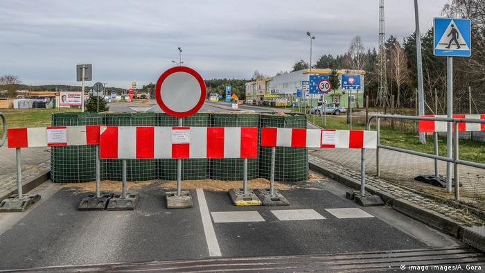 Poland has closed its border with Germany