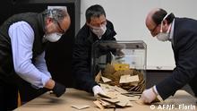 Frankreich Kommunalwahlen