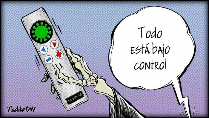 Karikatur von Vladdo | Coronavirus