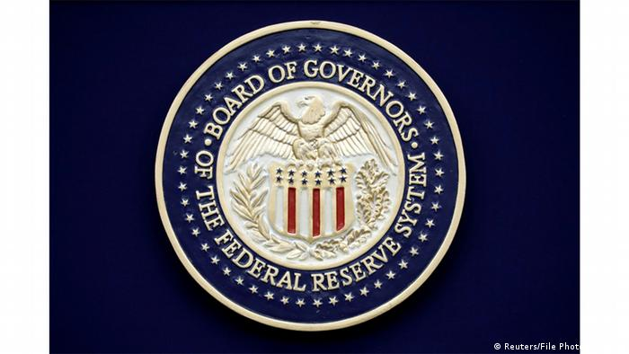 US Board of Governors of the Federal Reserve System seal