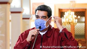 Venezuela   Präsident Nicolas Maduro   Coronavirus