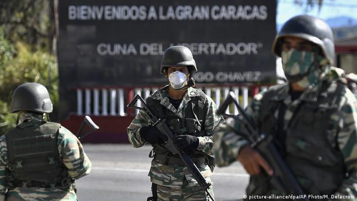 Venezuela | Coronavirus (picture-alliance/dpa/AP Photo/M. Delacroix)