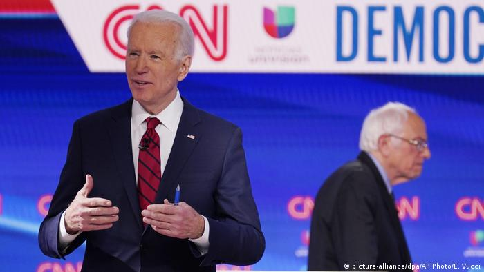 USA | Wahlen | Joe Biden und Bernie Sanders