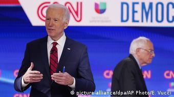 USA   Wahlen   Joe Biden und Bernie Sanders