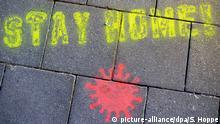 BdTD | Deutschland | Coronavirus · zu Hause bleiben