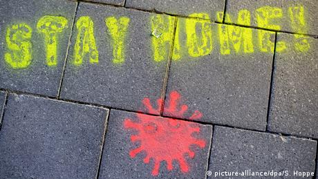 BdTD | Deutschland | Coronavirus · zu Hause bleiben (picture-alliance/dpa/S. Hoppe)