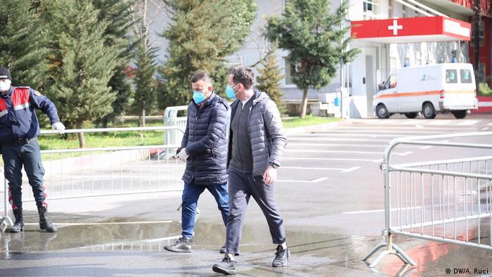 Albanien Krankenhaus für Infektionskrankheiten in Tirana