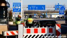Polizeikontrollen an der Grenze zwischen Deutschland und der Schweiz