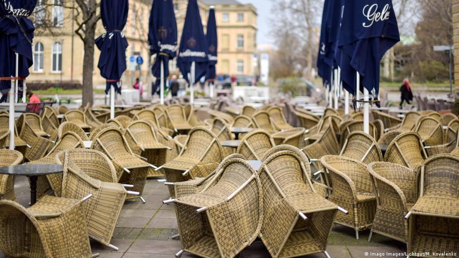 Coronavirus latest: Germany to close all non-essential shops, bars and restaurants