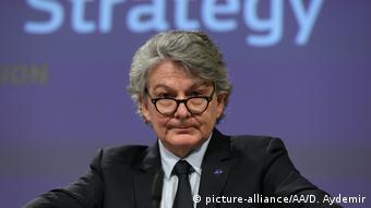 Belgien Brüssel   EU Kommissar Thierry Breton