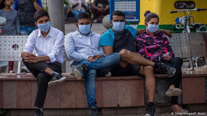 Indien Neu Delhi | Coronavirus (Getty Images/Y. Nazir)