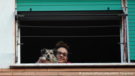 Coronavirus - Italien (picture-alliance/dpa/AP/A. Tarantino)