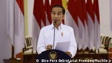 Indonesien | Pressekonferenz Joko Widodo zu Corona