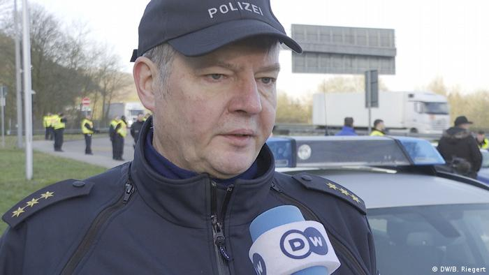 Polizeidirektor Bundespolizei Saarbrücken Ralf Leyens