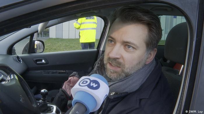 Grenzkontrolle Deutschland Frankreich Französischer Autofahrer