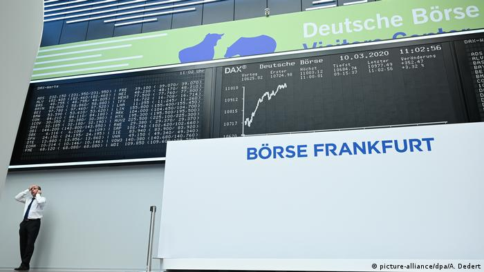 Coronavirus - Börse in Frankfurt/Main