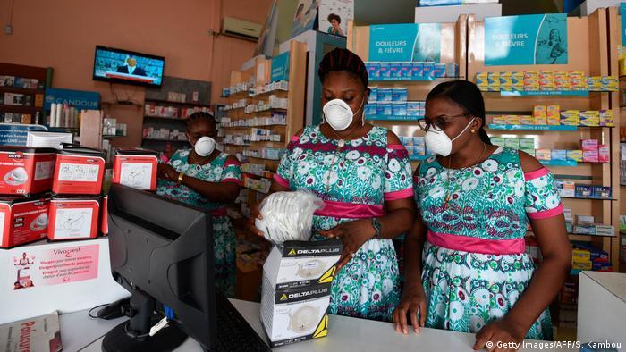 Afrika Coronavirus Pandemie / Elfenbeinküste (Getty Images/AFP/S. Kambou)