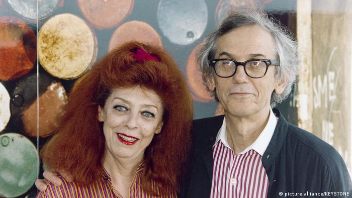 Christo and Jeanne-Claude (picture alliance/KEYSTONE)